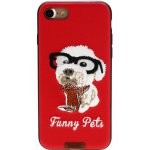 Чехол-накладка Remax Funny Pets Series Case Apple iPhone 7 Red