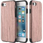 Чехол-накладка Rock Wood+TPU Origin Series (Grained) Case Apple iPhone 7 Plus Sandalwood