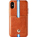 Чехол-накладка Remax Bert Series Case Apple iPhone X Brown
