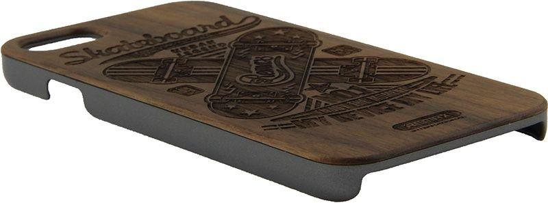 Чехол-накладка Remax Wood Case Apple iPhone 7 Skateboard