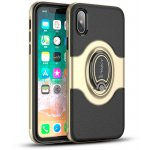 Чехол-накладка Ipaky 360° Free Rotation Ring Holder case iPhone X Gold