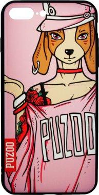 Чехол-накладка PUZOO Yuppie Phone  iPhone 7 Plus/8 Plus Annie Pink