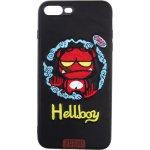 Чехол-накладка PUZOO TPU+TPU with stitchwork craft Star show iPhone 7 Plus/8 Plus Black Hellboy