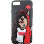Чехол-накладка PUZOO TPU Glossy Surface IMD Hip Hop iPhone 7/8 MC Husky Black