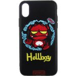 Чехол-накладка PUZOO TPU+TPU with stitchwork craft Star show iPhone X Black Hellboy