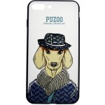Чехол-накладка PUZOO Artdog Phone  iPhone 7 Plus/8 Plus White Ravan