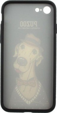 Чехол-накладка PUZOO Artdog Phone  iPhone 7/8 Black Bean