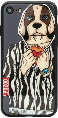 Чехол-накладка PUZOO Yuppie Phone  iPhone 7/8 Uncle Deng