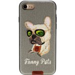 Чехол-накладка Remax Funny Pets Series Case Apple iPhone 7 Grey