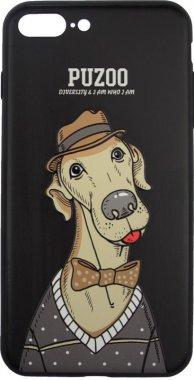 Чехол-накладка PUZOO Artdog Phone  iPhone 7 Plus/8 Plus Black Bean