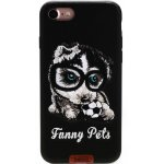 Чехол-накладка Remax Funny Pets Series Case Apple iPhone 7 Black