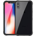 Чехол-накладка Ipaky 360° TPU Border+Transparent PC back iPhone X Black