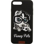 Чехол-накладка Remax Funny Pets Series Case Apple iPhone 7 Plus/8 Plus Black