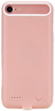 Чехол-аккумулятор Rock P8 power case 2000m Apple iPhone 7 Pink