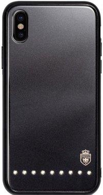 Чехол-накладка Remax Batili Series Glass Case Apple iPhone X Black