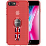 Чехол-накладка Rock TPU+PC MOC Pro Series Protection Case Apple iPhone 8/7 Trans-Red