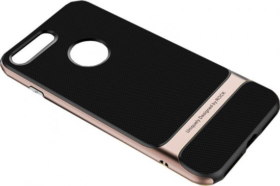 Чехол-накладка Rock TPU+PC Case Royce Series iPhone 7/8 Rose Gold