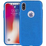 Чехол-накладка TOTO TPU Case Rose series 3 IN 1 iPhone X Blue