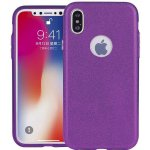 Чехол-накладка TOTO TPU Case Rose series 3 IN 1 iPhone X Purple
