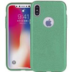 Чехол-накладка TOTO TPU Case Rose series 3 IN 1 iPhone X Green