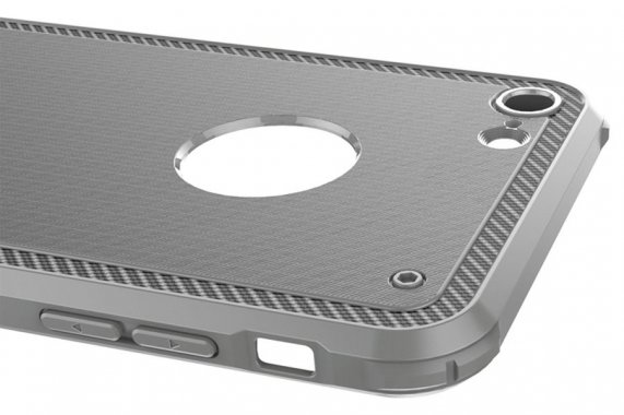Чехол-накладка Baseus Shield Case iPhone 7 Grey