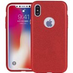 Чехол-накладка TOTO TPU Case Rose series 3 IN 1 iPhone X Red