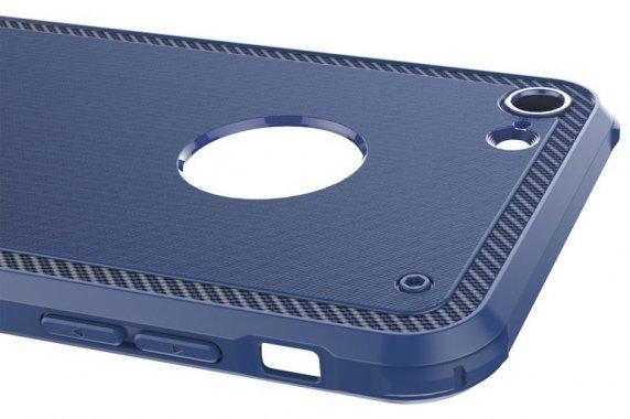 Чехол-накладка Baseus Shield Case iPhone 7 Dark Blue