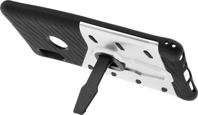 Чехол-накладка TOTO Sniper Case 2 in 1 Phone Case Xiaomi Redmi Note 5 Silver
