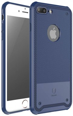 Чехол-накладка Baseus Shield Case iPhone 7 Plus Dark Blue