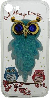 Чехол-накладка TOTO TPU Case Decorative Stones IPhone 7/8 Owls Cold Ice