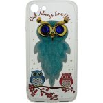 Чехол-накладка TOTO TPU Case Decorative Stones IPhone 7/8 Owls Cold Ice