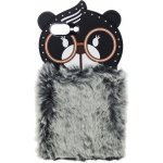 Чехол-накладка TOTO TPU Fluffy Case IPhone 7 Plus /8 Plus Bear Gray