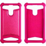 "Чехол-накладка TOTO Universal TPU case 5,5"" Pink"