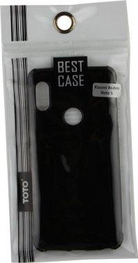 Чехол-накладка TOTO Shockproof Crystal TPU Case Xiaomi Redmi Note 5 Black