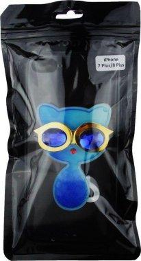 Чехол-накладка TOTO TPU Case Decorative Stones IPhone 7 Plus/8 Plus Cat Blue
