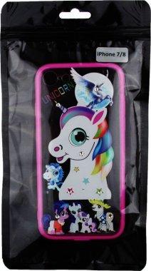 Чехол-накладка TOTO TPU Сartoon Network Case IPhone 7/8 Pink Unicorn