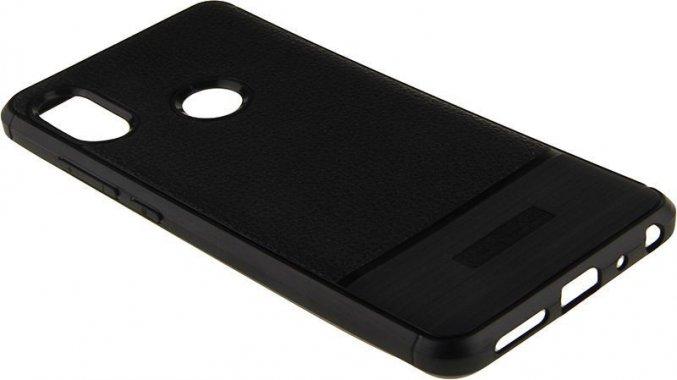Чехол-накладка TOTO TPU Leather Case Xiaomi Redmi Note 5 Black