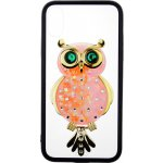 Чехол-накладка TOTO TPU Case Decorative Stones IPhone X Owl Black