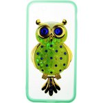 Чехол-накладка TOTO TPU Case Decorative Stones IPhone 7/8 Owl Green