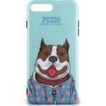Чехол-накладка PUZOO TPU Glossy Shiny Powder Art dog iPhone 7 Plus/8 Plus Green Baby