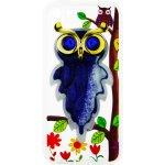 Чехол-накладка TOTO TPU Case Decorative Stones IPhone 5/5S/SE Owls Purple