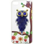 Чехол-накладка TOTO TPU Case Decorative Stones IPhone 7 Plus/8 Plus Owls Purple