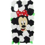 Чехол-накладка TOTO TPU Fluffy Case для iPhone X Mini Mouse Black