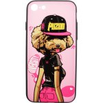 Чехол-накладка PUZOO TPU Case with UV Printing Hip Hop iPhone 7/8 DJ Teddy Pink