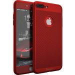 Чехол-накладка Ipaky 360 Mesh PC Heat Dissipation cover case 3 in 1 iPhone 7 Plus Red