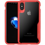 Чехол-накладка Ipaky Survival TPU Frame Injected Anti-Scratch iPhone X Red