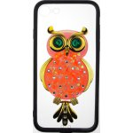 Чехол-накладка TOTO TPU Case Decorative Stones IPhone 7/8 Owl Black