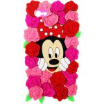 Чехол-накладка TOTO TPU Fluffy Case IPhone 5/5S/SE Mini Mouse Pink