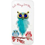 Чехол-накладка TOTO TPU Case Decorative Stones IPhone 6 Plus/6S Plus Owls Cold Ice