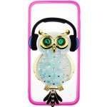 Чехол-накладка TOTO TPU Stones Case IPhone 7/8 Owl in Headphones Green